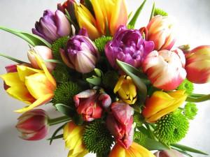 Ostern Blumenstrauß